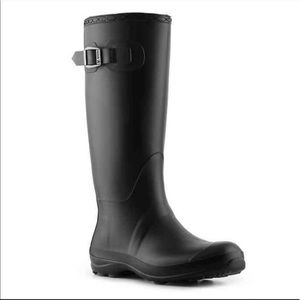 Kamik Olivia Black Rain / Snow Boots Size 9
